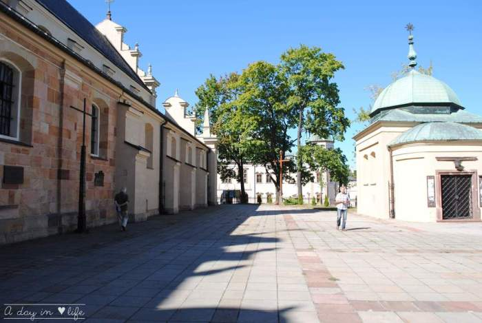 Palais des évêques Kielce en Pologne